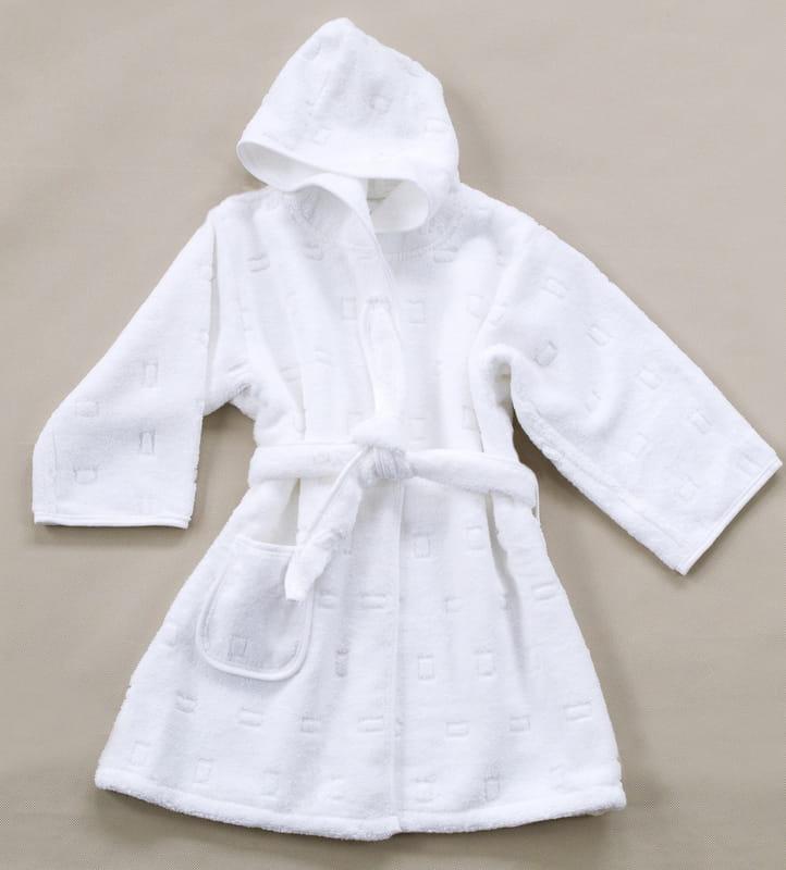 30f2a902080e46 Szlafrok dla Dzieci Greno Biały rozmiary od 1,5 do 12 lat - sklep ...
