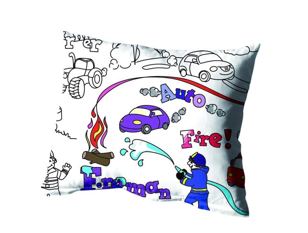Pościel Bawełniana Greno Dla Dzieci Do Kolorowania 160x200 Boy